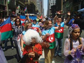 Delegation of the Azerbaijani diaspora. New York. 23 May 2009