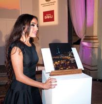 Leyla Aliyeva welcomes her guests