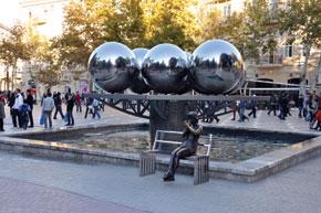 Fountain. Fountain Square. Baku. Photo: Visions
