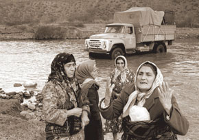 Azerbaijani refugees from Armenia