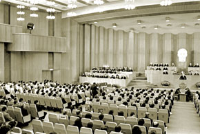 The 1st session of the 10th convocation of the Presidium of the Supreme Soviet of the Azerbaijan SSR and chamber, 1980