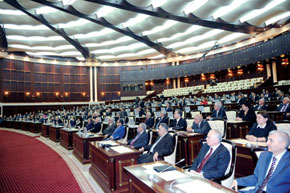 The 1st meeting of the Milli Majlis formed by the 7 November 2010 elections, 29 November 2010