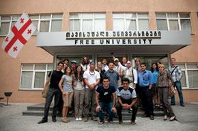 Group shot, Free University