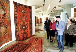 From the Azerbaijani Culture exhibition. Paris. April 2011
