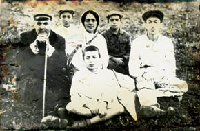 Mammadguluzadeh with his family