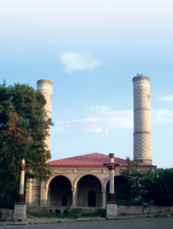 Govharaga Mosque (Upper), 1768. Shusha town, now occupied by Armenians. 2010