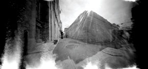 """Through pinhole""- Habib Muradov"