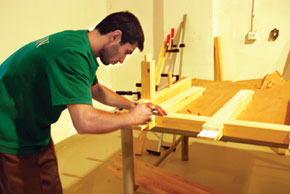 Each piano is painstakingly hand crafted""