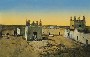 'Ateshgah' temple. 1917