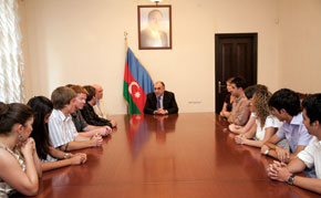 Meeting with Foreign Minister Elmar Mammadyarov