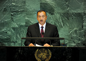 President of the Republic of Azerbaijan, Ilham Aliyev