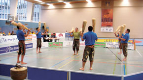 "A game of ""Mil"". The 2nd All-round Zorkhana Events European Championship, Frankfurt, Germany, 13-17 December 2009. The Azerbaijani national team took first place, winning 14 of the 17 gold medals available"