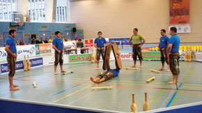 A game of 'Sang'. The 2nd European Championship, Frankfurt, Germany, 13-17 December 2009
