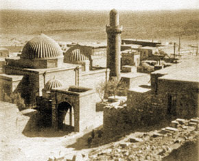 General view of the mosque