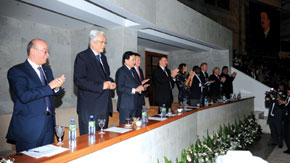 Official guests of the World Boxing Championship. Baku, 2011