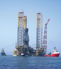 Shah Deniz gas platform