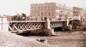 The bridge over Ganja River