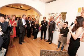Sabina Rakcheyeva introduces the artist