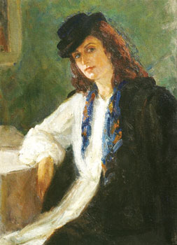 Self-portrait. 1948