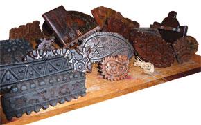 Kelagayi pattern stamps