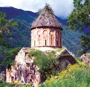 Khotavanq, IV century, Kalbacar district