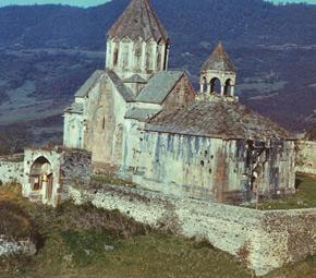 Gandzasar, XIII century, Garabagh, Aghdere district