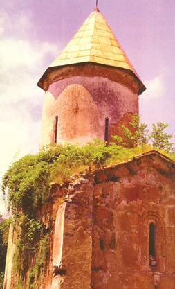 The church of St Elysee, I- XIII centuries, Sheki district, Kish village