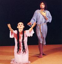 "Leyli and Majnun: ""Leyli"" - Gulyaz Mamedova, ""Majnun"" - Mansum Ibragimov"