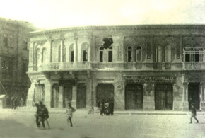 Gubernatorski street (Nizami str.) after the events. March 1918. Photo: Vilkovski