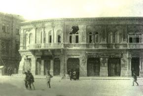 Gubernatorski street (Nizami str.) after the events. March 1918. Photo: Vilkovski