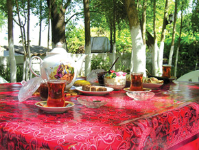 Traditional Azerbaijani Tea