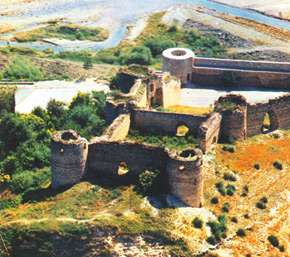 The Askeran Fortress, XVIII century, Karabagh