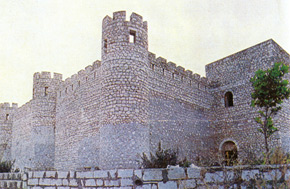 The sentry towers of Shusha Fortress