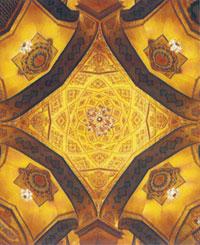Inside Panah Khan's mosque in Shusha