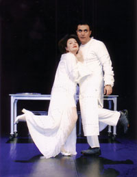 Sarah Bernhardt & Slash 13 as Romeo & Juliet in Şekspir