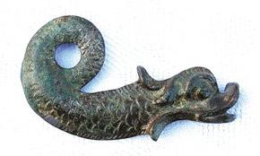 Legendary fish figure (1st century BC)