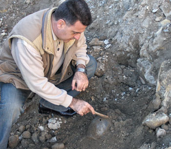 Historian-archaeologist Kamil Ibrahimov