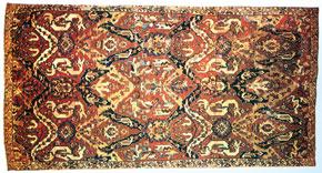 Karabakh carpet, 17th century