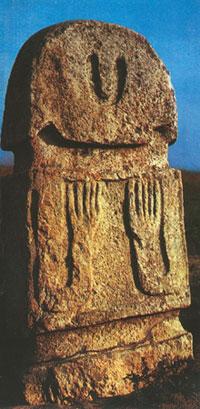 Stone monument, Agdam district, Borahmadli village