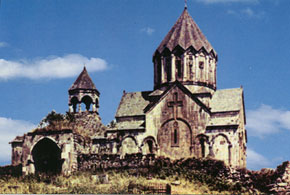 Gandzasar Albanian Monastery, Agdara region, 13th century