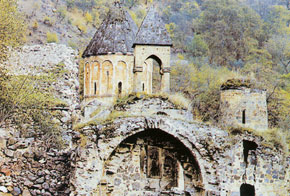 Khudaveng, Uzun Hasan´s church, 13th century