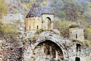 Khudaveng, Uzun Hasan´s church, 13th century