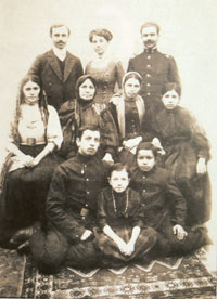 Hajibeyov family