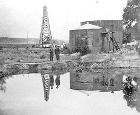 Naftalan, 1940s