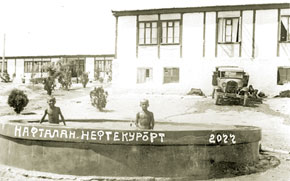 Naftalan oil resort, 1936