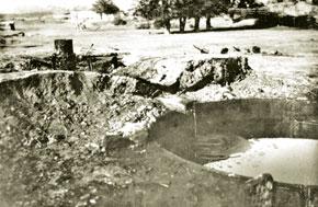 Naftalan oil well, 1930