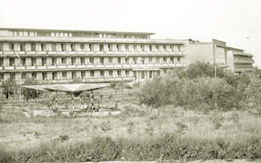 Buildings of the USSR Naftalan Resort, 1967
