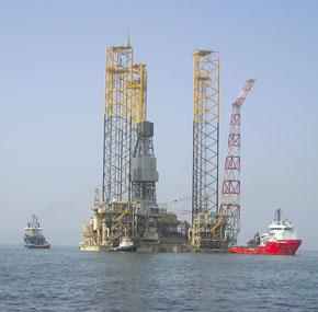 Shahdeniz gas field