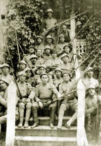 Infantry unit of Azerbaijani National Army, around 1919