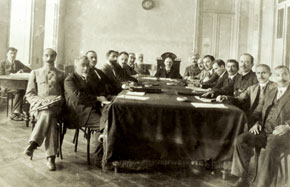 Fourth Cabinet of Ministers of the ADR (14 March-22 December, 1919)